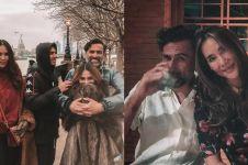 10 Foto harmonis keluarga Jeremy Thomas, hampir 25 tahun menikah