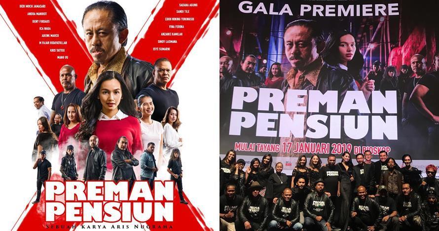 Perjuangan 5 bintang film Preman Pensiun demi bisa syuting