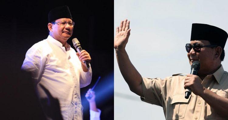 4 Momen Prabowo sebelum pidato, sempat rapikan dasi Sandiaga Uno