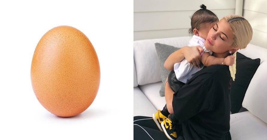 Foto telur ini dapat 28 juta like di IG, kalahkan Kylie Jenner