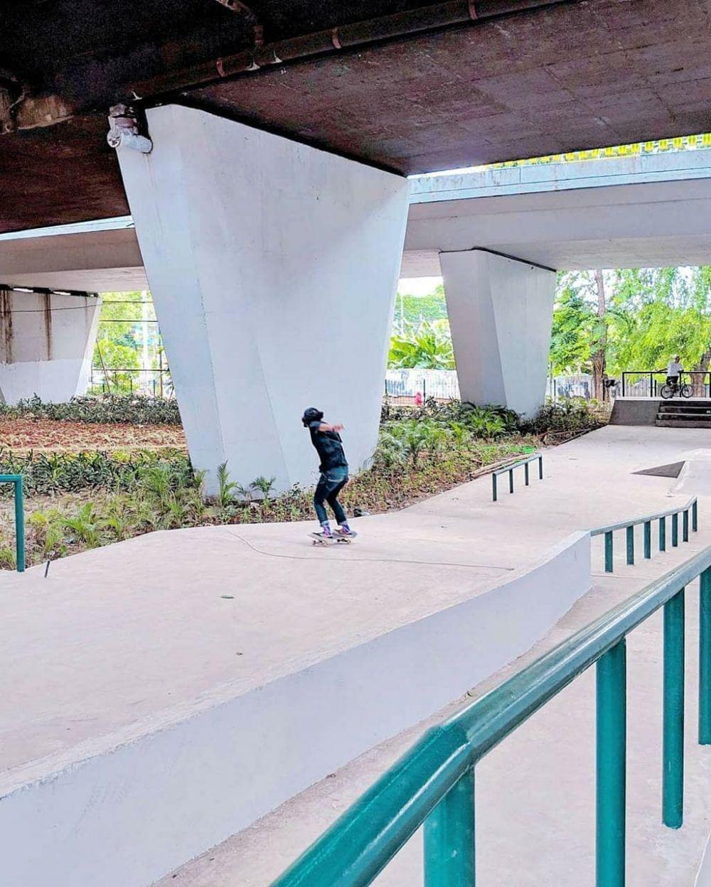 transformasi kolong slipi © Instagram/@aniesbaswedan