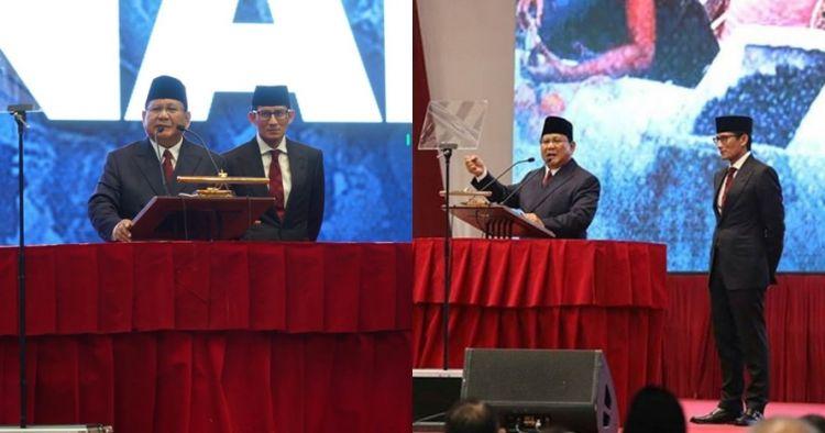 7 Kritik Prabowo untuk pemerintahan Jokowi di pidato kebangsaan