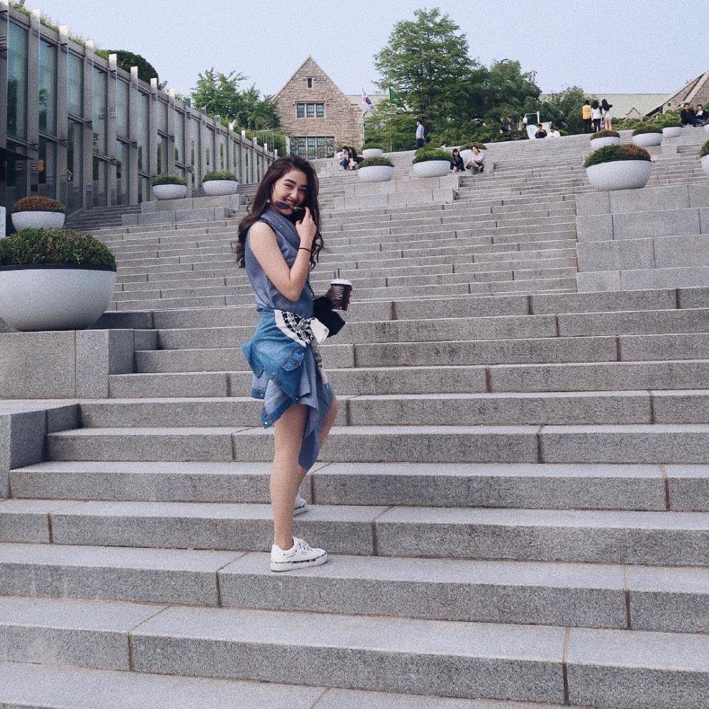 Ranty Maria kuliah  © 2019 brilio.net