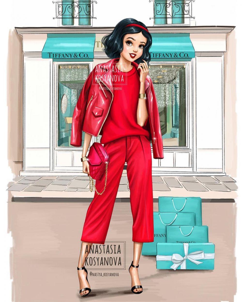 Putri Disney Model Fashion  © 2019 brilio.net