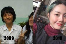 15 Foto Ten Year Challenge, bukti transformasi itu nyata