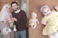 6 Foto editan rambut anak Hamidah-Irvan Farhad ini lucu banget