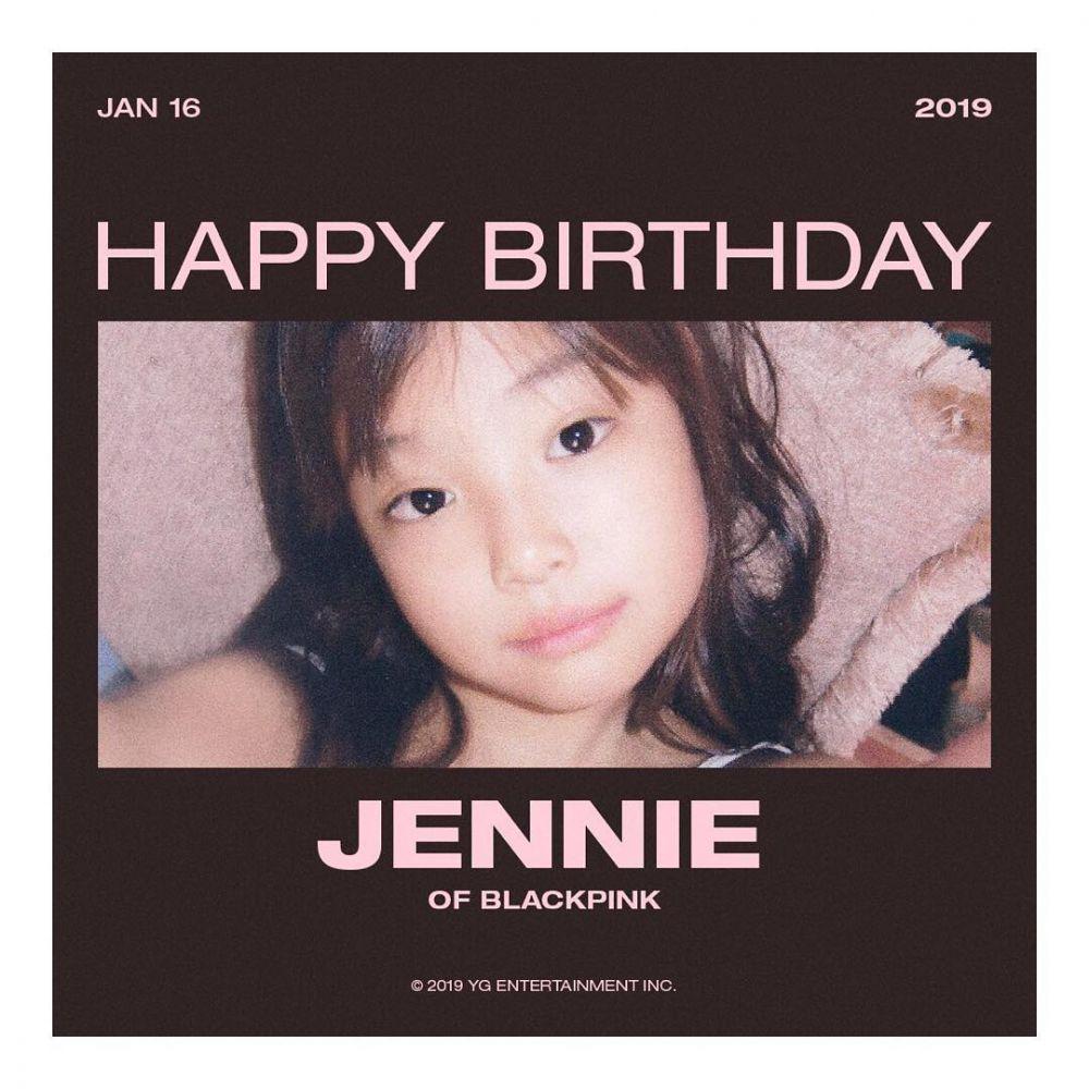 Jennie backpink ultah  © 2019 brilio.net