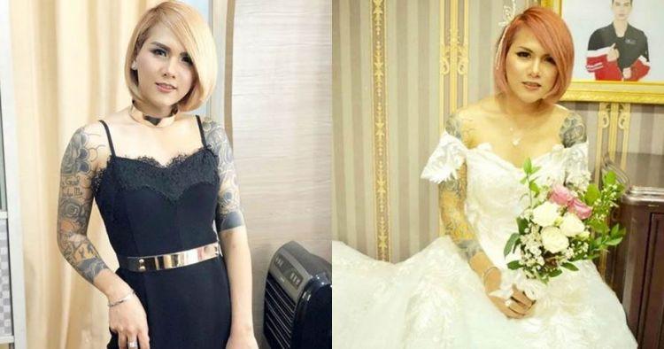 7 Pesona Evelyn Nada Anjani kenakan gaun, tampil beda
