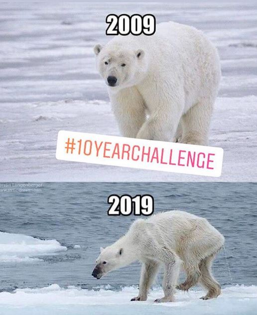 10 year challenge sedih instagram