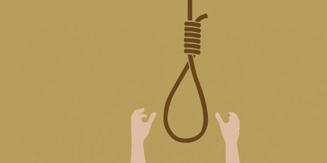 aksi bunuh diri karena cinta  © 2019 brilio.net