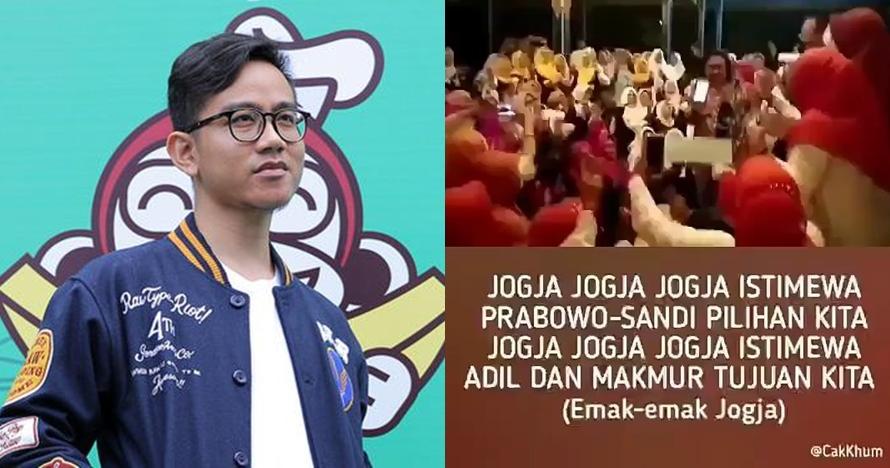 Reaksi lucu Gibran soal kubu Prabowo jiplak lagu Jogja Istimewa