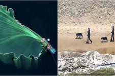 20 Foto udara pemenang Dronestagram, kerennya bikin melongo