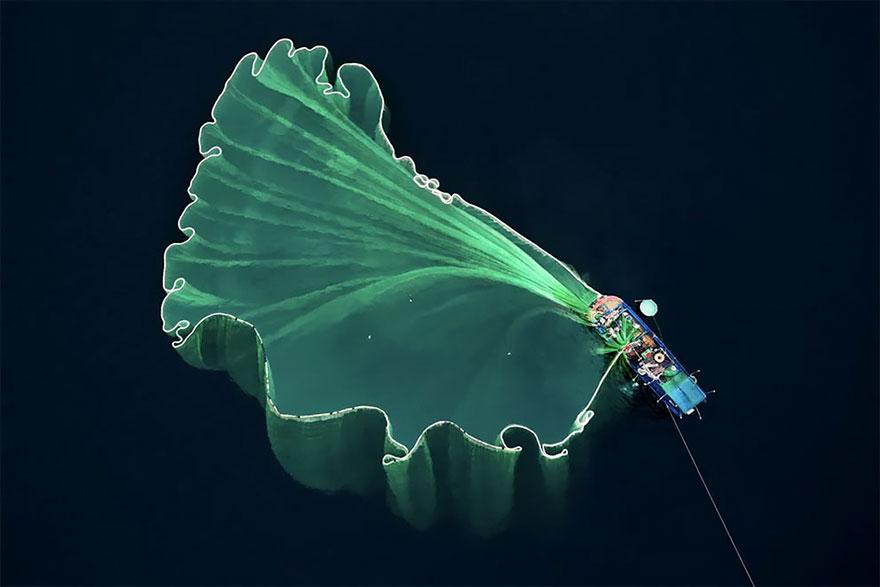 Dronestagram pemenang © boredpanda.com
