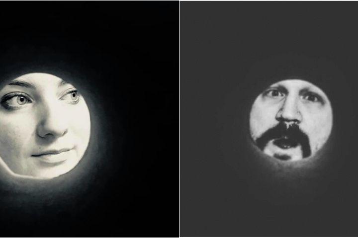 Cuma pakai roll tisu toilet, 10 selfie ini mirip 'wajah di bulan'