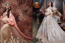8 Seleb ini pemotretan maternity bertema ratu, elegan abis