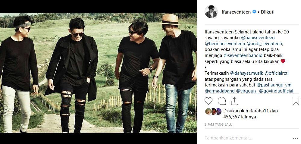 seventeen ultah instagram