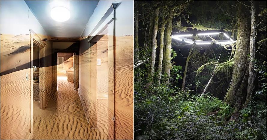 10 Instalasi seni super kece, ubah sudut ruangan bernuansa alam