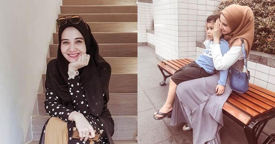 12 Kedekatan Zaskia Sungkar & putra Shireen, seperti anak sendiri