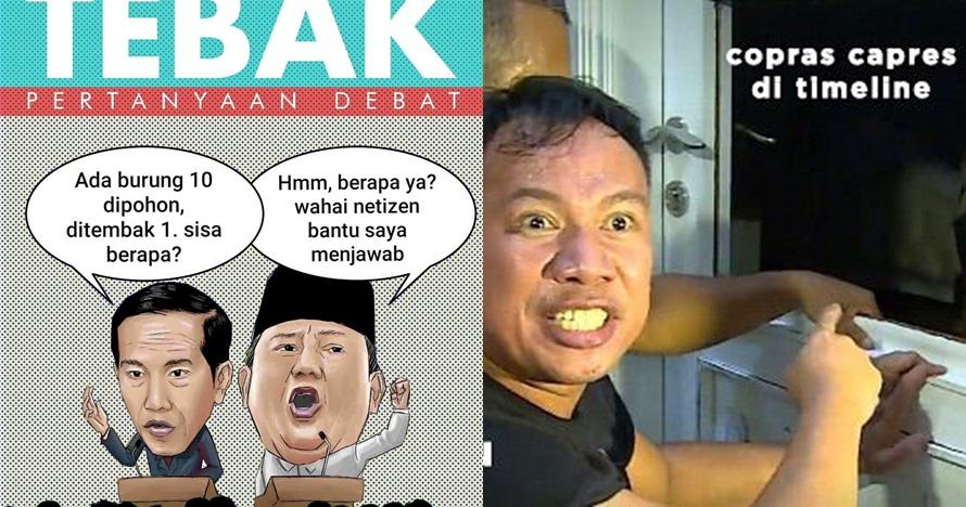 7 Meme lucu debat capres ini bikin kamu nggak darah tinggi