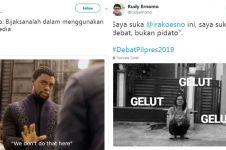 10 Cuitan lucu tanggapi ketegasan Ira Koesno dalam debat capres