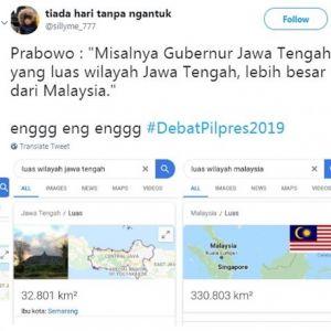 10 Cuitan lucu Jawa Tengah lebih luas dari Malaysia ini kocak