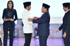 9 Fakta menarik dari debat capres, Prabowo joget