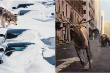 10 Lukisan gambarkan kondisi bumi jika manusia punah semua