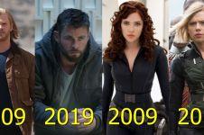 11 Foto seleb Hollywood ikut 10 Years Challenge, bukti awet muda