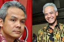 Reaksi Ganjar usai Prabowo sebut Jateng lebih luas dari Malaysia
