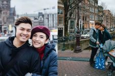 10 Momen liburan romantis Chelsea Olivia-Glenn Alinskie di Eropa
