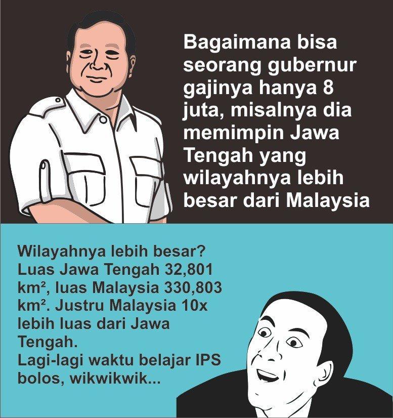 8 Meme lucu quote kontroversial Jokowi Ma ruf & Prabowo S