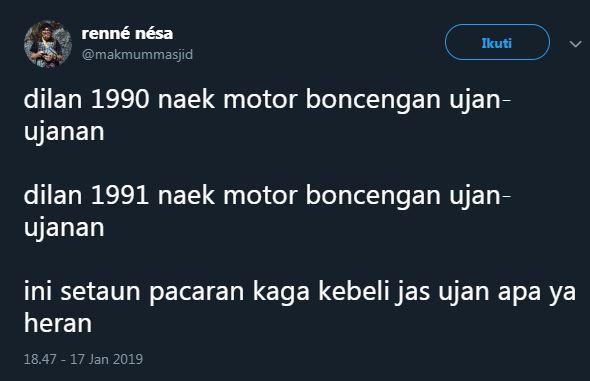cuitan Dilan 1 twitter