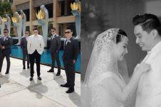 Resmi menikah, ini 10 momen pemberkatan Edric Tjandra & Venny