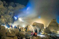 Pesona Blue Fire Ijen hipnotis wisatawan asal Malaysia
