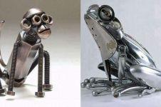 10 Karya seni boneka dari besi & sekrup ini detailnya mengagumkan