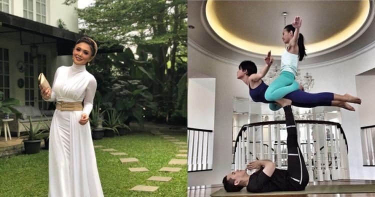 13 Penampakan rumah Yuni Shara, mewah & nuansa klasik