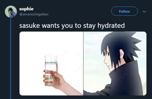 gabungan anime Naruto © 2019 Twitter