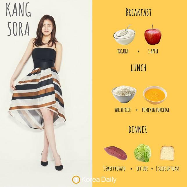 menu diet seleb cantik Korea © 2019 brilio.net