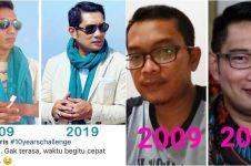 12 Editan foto 10 Years Challenge mirip Ridwan Kamil, kocak abis