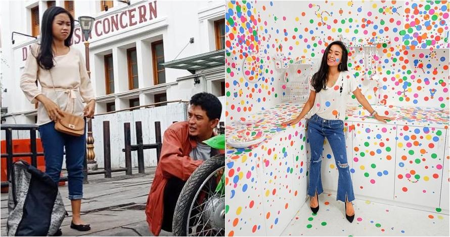 10 Gaya fashionable Sekar si cablak 'Tukang Ojek Pengkolan'