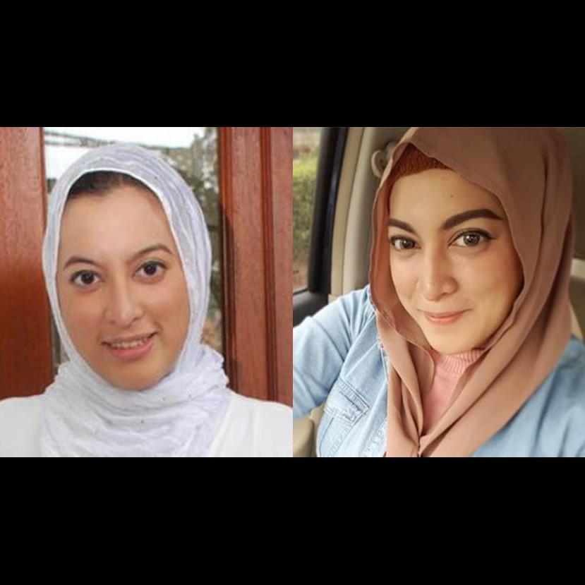 10 Gaya hijab Jane Shalimar tanpa jarum pentul, nggak ribet