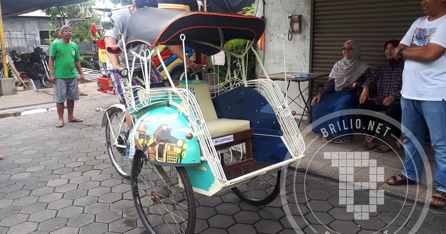 Belia, becak listrik Android calon andalan pariwisata Jogja