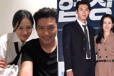 Bantah pacaran, Hyun Bin & Son Ye-jin kepergok jalan bareng