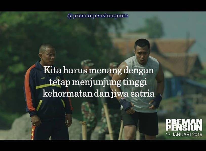 Quote Preman Pensiun instagram