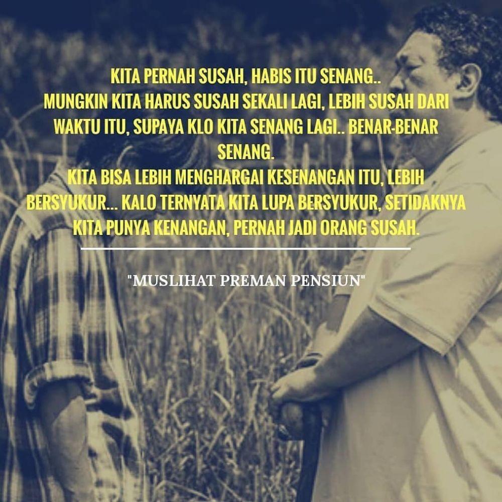 25 Trend Terbaru Kata Kata Preman Pensiun The Movie Maruf Khudori