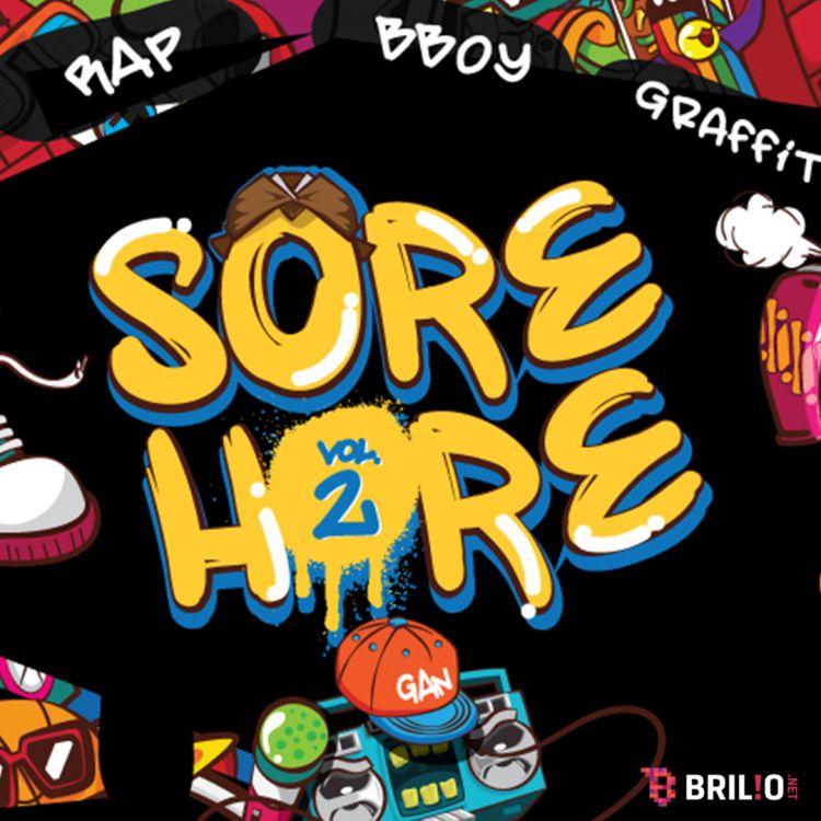 Sore Hore Vol.2 siap manjakan pencinta Rap, B-boy, dan Grafitti!
