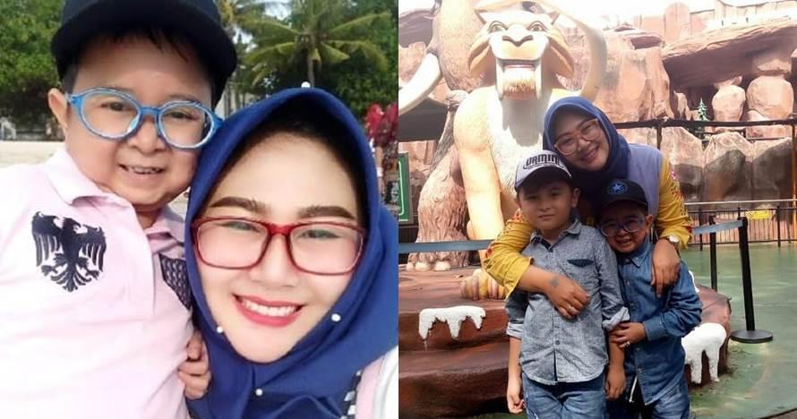 7 Foto liburan Daus Mini bareng anak dan istri, penuh kehangatan