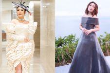10 Pesona Ayu Dewi pakai gaun mewah, bak putri kerajaan gitu deh