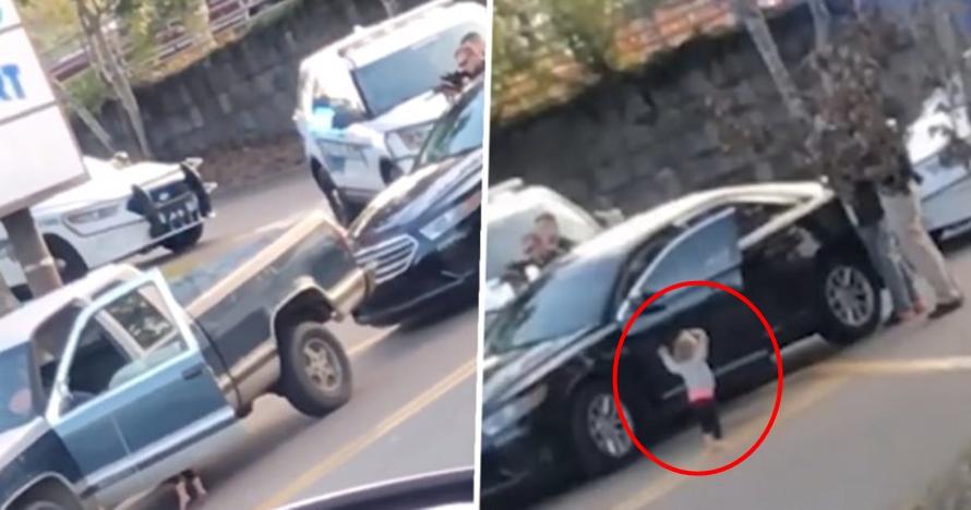Kisah bocah 2 tahun angkat tangan saat ayahnya ditangkap polisi
