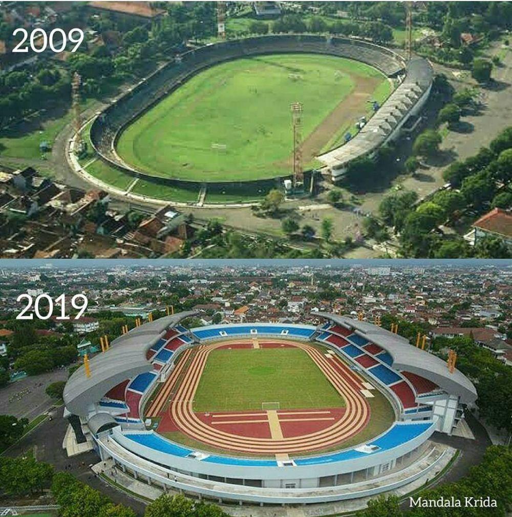 10 years challenge stadion © Twitter/@giewahyudi
